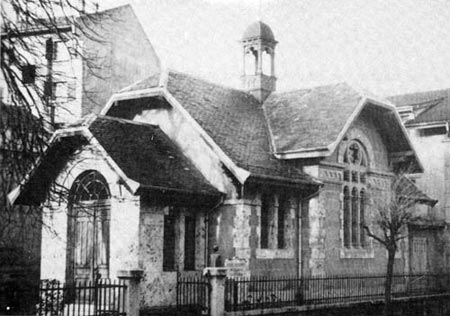 La chapelle érigée en 1873.